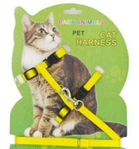 Шлейка для кошек и маленьких собак