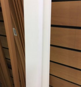 Уголок ПВХ Идеал 25х25мм Белый 2,7 метра