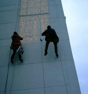Герметизация и гидроизоляция окон.балконов.швов.