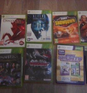 Xbox 360 с 10 играми и кинектом