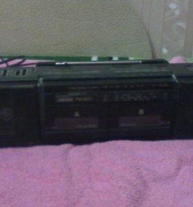 Двухкассетный магнитофон ВЕГА