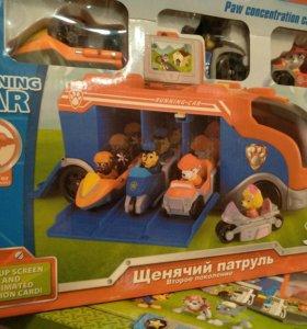 Муз.автобус(щенячий патруль)