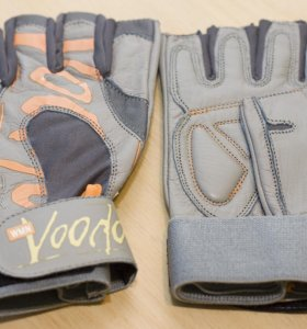 Новые перчатки для фитнеса MADMAX Voodoo жен. кожа