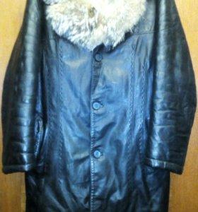 Куртка кожаная VECCHI