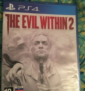 Игра на ps4 The Evil Within 2