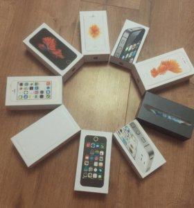 iPhone 4S/5/5S/6/6S новые оригинальные