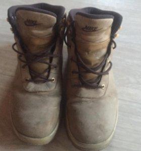 Зимние кроссовки nike(тимберленд)