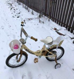 Детский двухколесный велосипед Stels