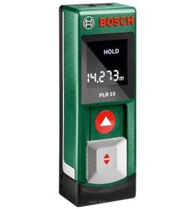 лазерный дальномер bosch plr15