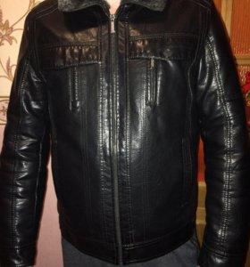Куртка зимняя кож.зам.