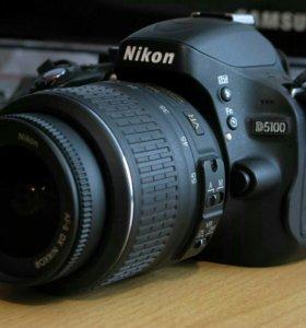 Nikon D5100kit 18-55mm