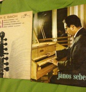 И. С. Бах и другие на клавесине