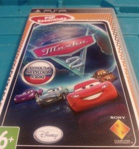 Диск игра PSP Тачки 2