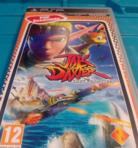 Диск игра PSP Jack adn Daxter: The Lost Frontier
