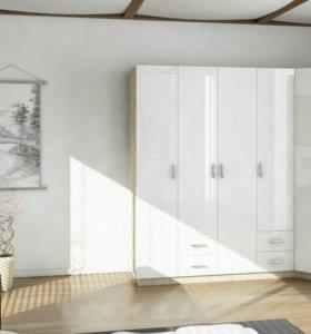 Угловой шкаф фасады эмаль
