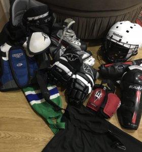 Обмундирование для хоккея