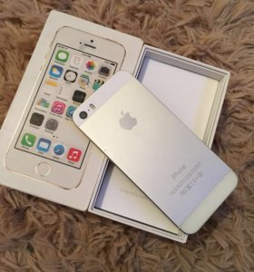 iPhone 5s silver 16gb в отличном состоянии