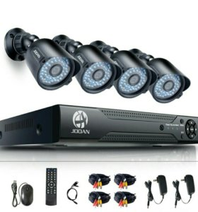 Комплект видео наблюдения.
