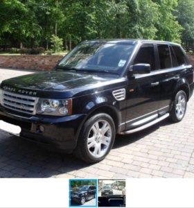 Аренда автомобиля Range Rover Sport на Свадьбу
