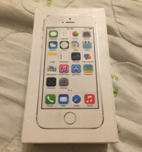 Коробка от айфона 5s gold 64gb