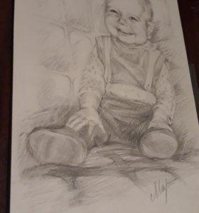 Портрет с фото