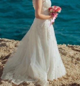 Свадебное платье 50 размер