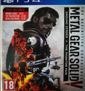 Metal Gear Solid V - the Defenitive Experience ps4