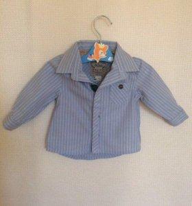 Модная рубашка на малыша