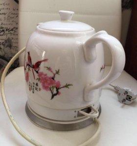 Хороший керамический чайник