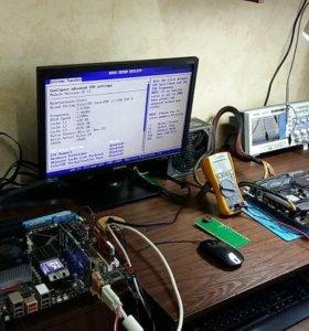Ремонт компьютеров , заправка картриджей принтеров