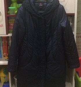 Зимнее куртка-пальто 46-48 размер