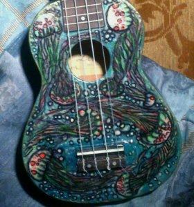 Укулеле гавайская гитара
