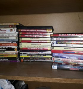 Диски на ПК игры и фильмы