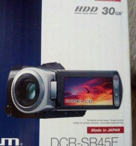 Видеокамера Sony DCR-SR45E. В хорошем состоянии.