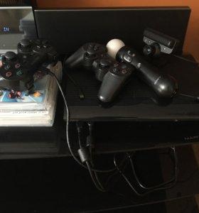 Приставка PS3 на 1 тб