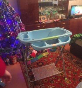 Ванночка детская на подставке
