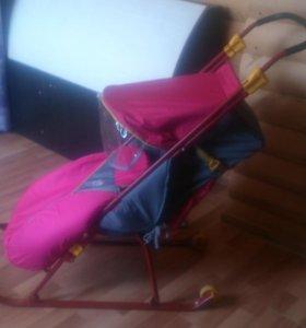 Складные санки-коляска