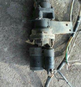 Стартер 12 В Мтз - Т40 редукторный бу
