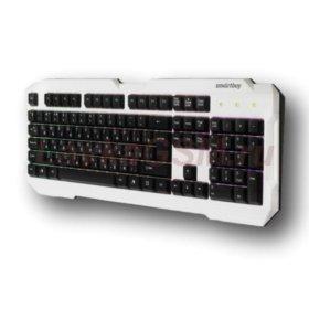 Клавиатура проводная Smartbuy ONE 332 USB белая