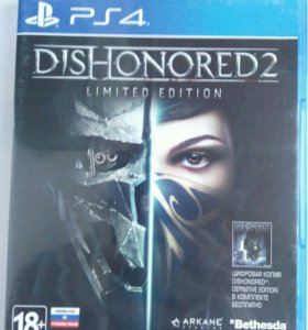 Dishonored 2 Limited Edition(PS4)