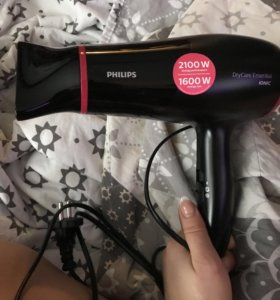Фен philips dry care essential ionic