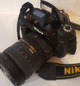 Nikon D90 VR II 18-200 BodyKit