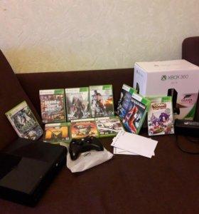Xbox 360 E + 13 игр 500GB