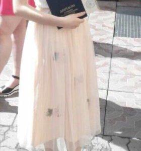 Фатиновая юбочка