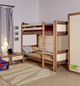 Кровать двухъярусная БРАММИНГ