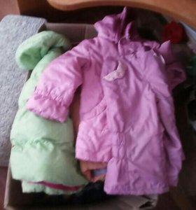 Вещи на девочку 1,5-2 года куртки,обувь,одежда