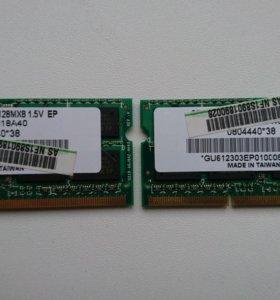 Оперативная память GDRR3-1333 2Гб