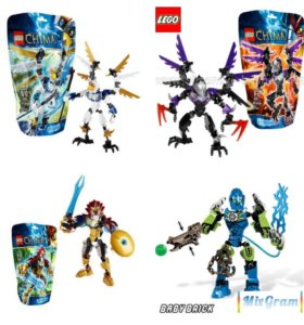 Фигурки Lego Chima, Hero Factory
