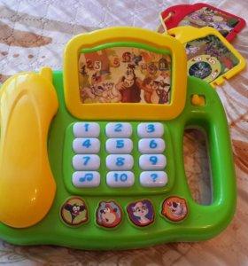 """Умный телефон """"Уроки тетушки Совы"""" изучаем арифмет"""