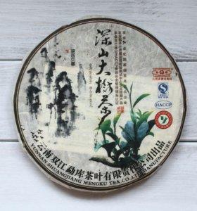 Чай пуэр Мэнку Чайные листья густого леса 2010 г.